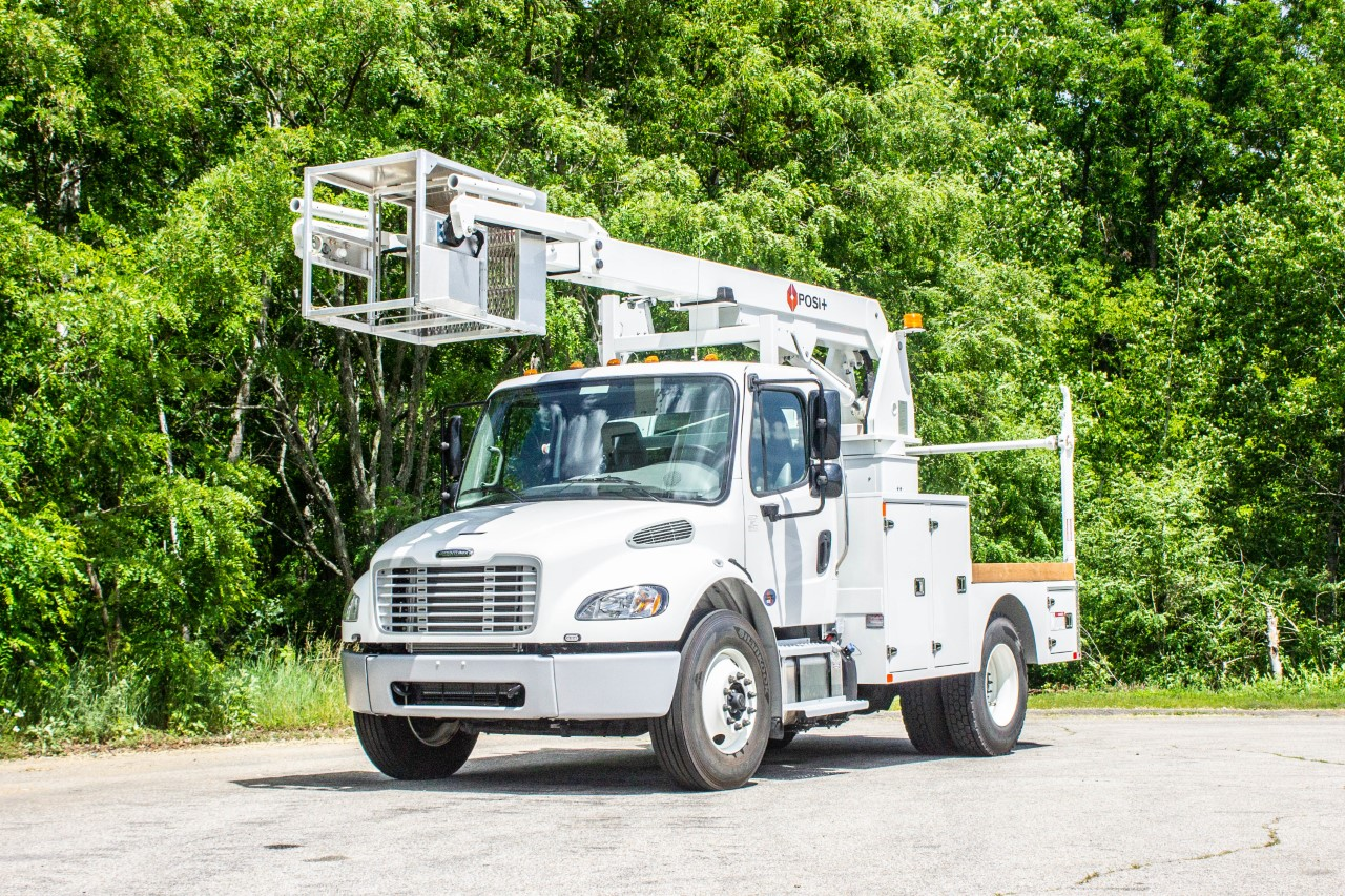 Posi+ Linerunner 800 Cable Placer Bucket Truck (1)