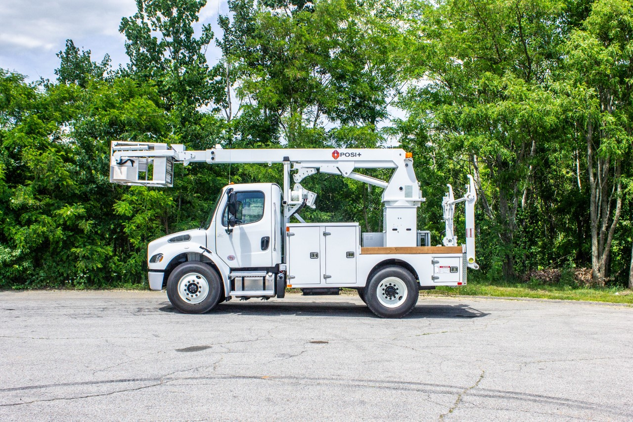 Posi+ Linerunner 800 Cable Placer Bucket Truck