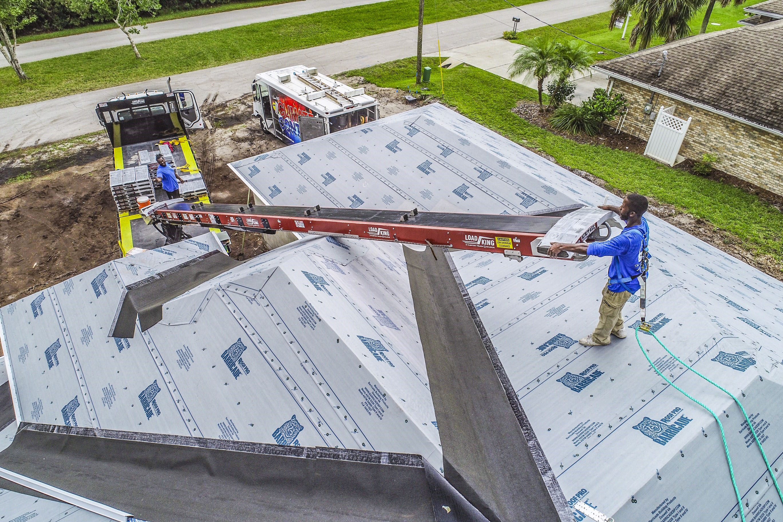 Roofing Conveyor - Roof Repairs
