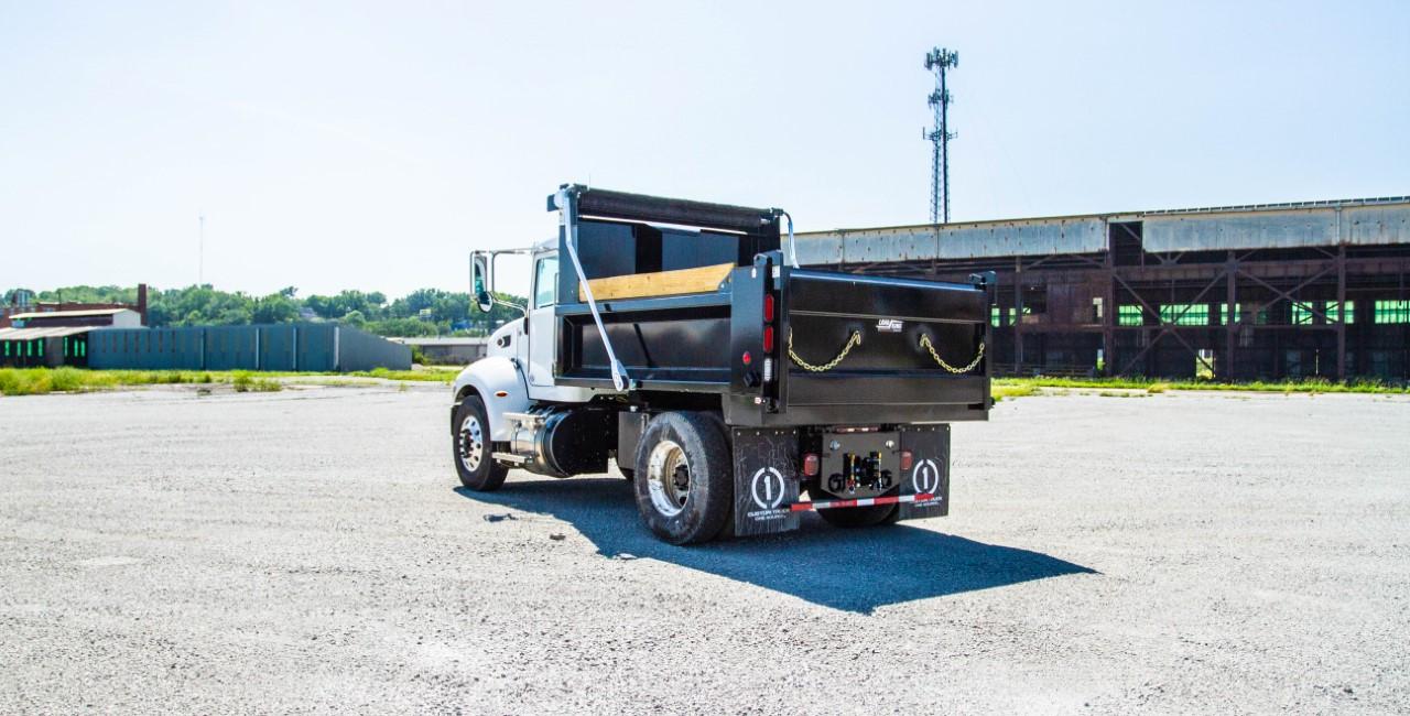 Load King 10 ft. Dump Truck on Peterbilt
