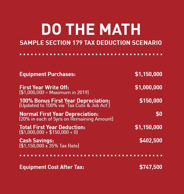 Secton 179 2019 Calculator