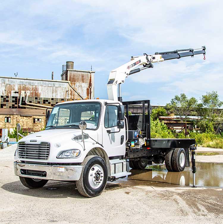 Knuckle Boom Truck Crane