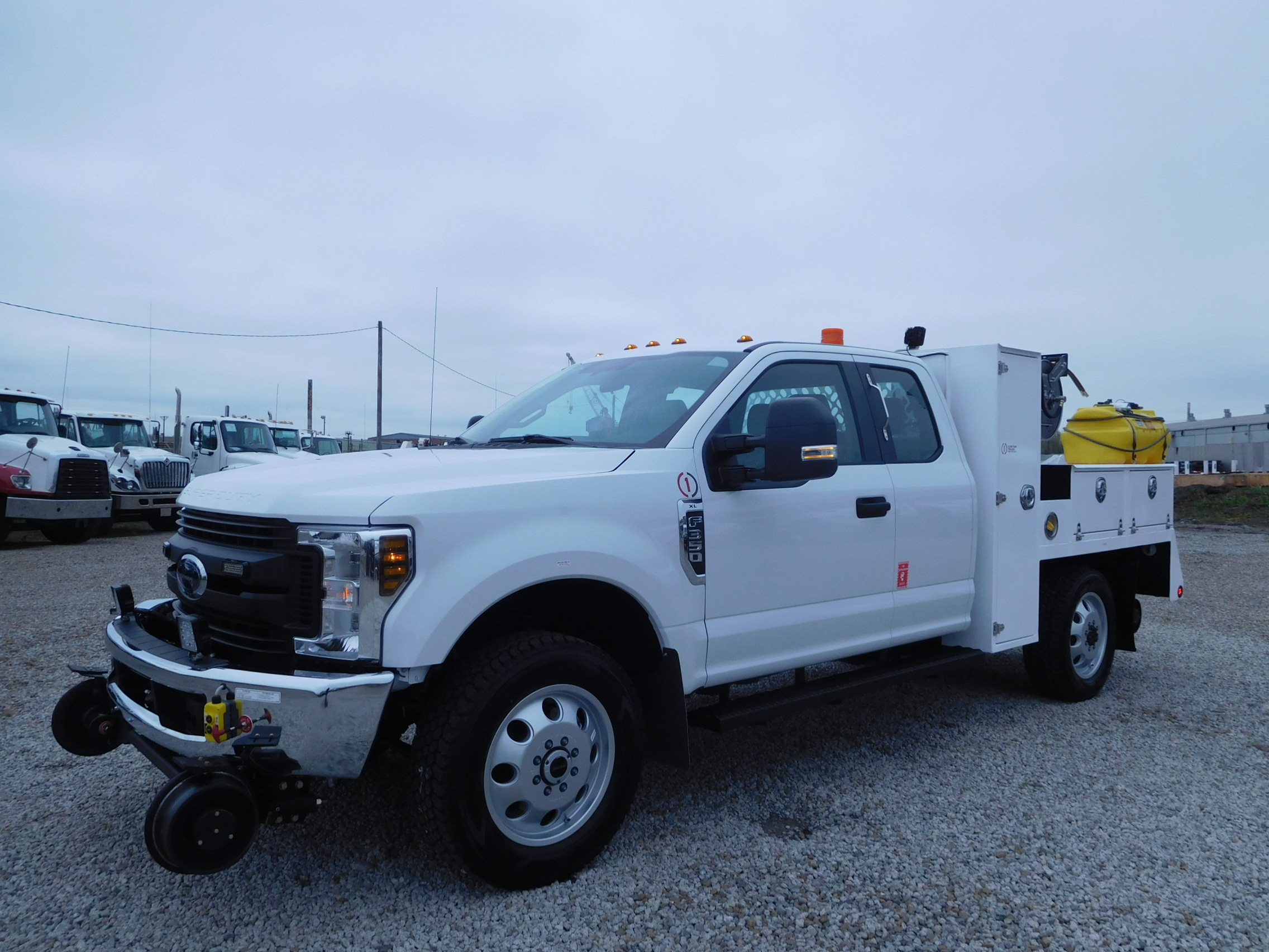Hi-rail Track Inspectors spec 315 on F-350 extended cab